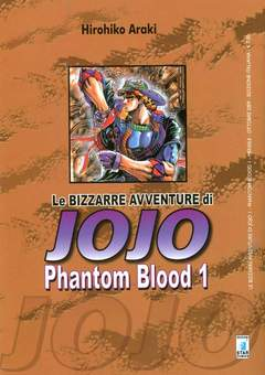 Copertina BIZZARRE AVVENTURE DI JOJO n.1 - PHANTOM BLOOD 1, STAR COMICS