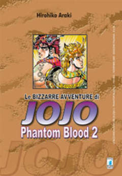 Copertina BIZZARRE AVVENTURE DI JOJO n.2 - PHANTOM BLOOD 2 (m3), STAR COMICS