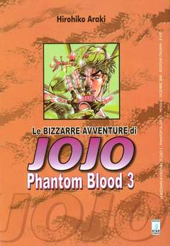 Copertina BIZZARRE AVVENTURE DI JOJO n.3 - PHANTOM BLOOD 3 (m3), STAR COMICS