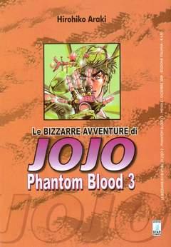 Copertina BIZZARRE AVVENTURE DI JOJO n.3 - PHANTOM BLOOD 3 (m3), STAR COMICS