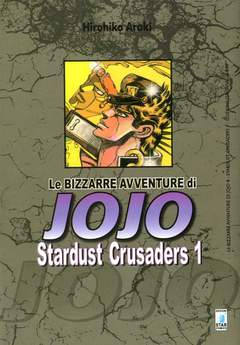Copertina BIZZARRE AVVENTURE DI JOJO n.8 - STARDUST CRUSADERS 1 (m10), STAR COMICS
