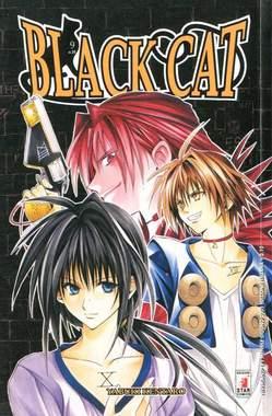 Copertina BLACK CAT n.9 - BLACK CAT (M20), STAR COMICS