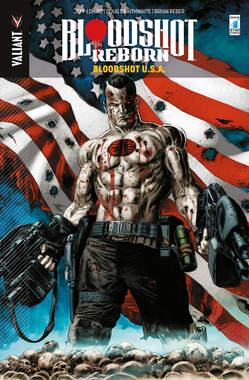 Copertina BLOODSHOT REBORN n.5 - BLOODSHOT U.S.A., STAR COMICS