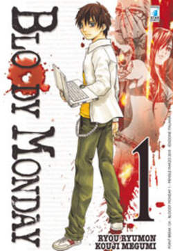 Copertina BLOODY MONDAY n.1 - BLOODY MONDAY 1, STAR COMICS