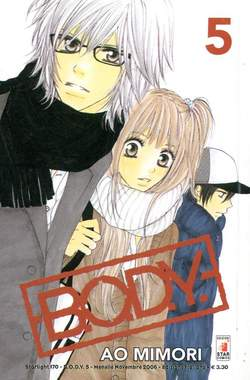Copertina BODY n.5 - BODY 5, STAR COMICS