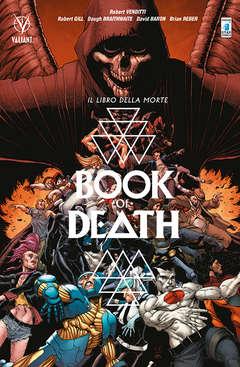 Copertina BOOK OF DEATH n.2 - LA CADUTA DELL'UNIVERSO VALIANT, STAR COMICS