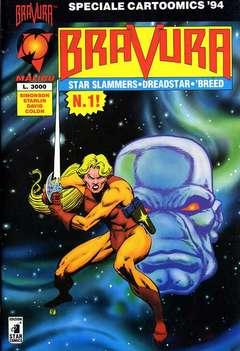 Copertina BRAVURA n.1 - BRAVURA 1, CARTOONCOMICS 94 , STAR COMICS