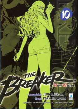Copertina BREAKER NEW WAVES n.10 - BREAKER NEW WAVES (m20), STAR COMICS