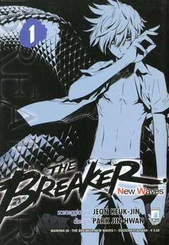 Copertina BREAKER NEW WAVES (m20) n.1 - BREAKER NEW WAVES (m20), STAR COMICS