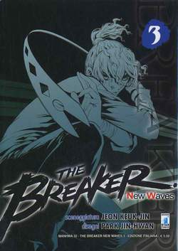Copertina BREAKER NEW WAVES n.3 - BREAKER NEW WAVES (m20), STAR COMICS