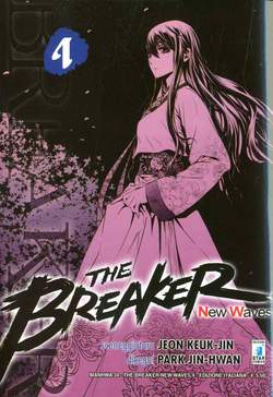 Copertina BREAKER NEW WAVES n.4 - BREAKER NEW WAVES (m20), STAR COMICS