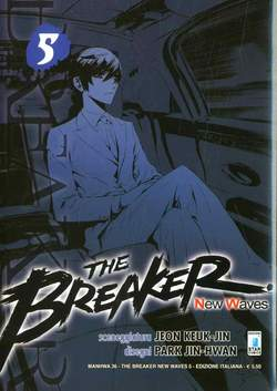 Copertina BREAKER NEW WAVES n.5 - BREAKER NEW WAVES (m20), STAR COMICS