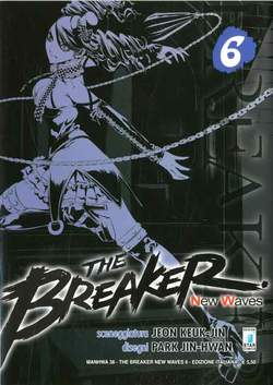Copertina BREAKER NEW WAVES n.6 - BREAKER NEW WAVES (m20), STAR COMICS