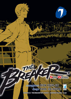 Copertina BREAKER NEW WAVES n.7 - BREAKER NEW WAVES (m20), STAR COMICS