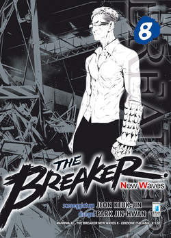 Copertina BREAKER NEW WAVES n.8 - BREAKER NEW WAVES (m20), STAR COMICS