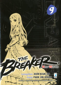 Copertina BREAKER NEW WAVES n.9 - BREAKER NEW WAVES (m20), STAR COMICS