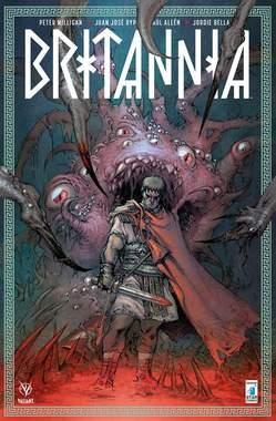 Copertina BRITANNIA n.1 - BRITANNIA #1 - Variant Cover di THEO, STAR COMICS
