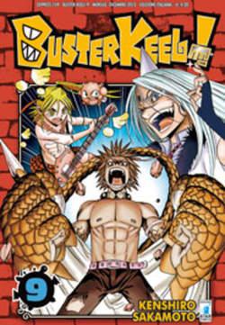 Copertina BUSTER KEEL n.9 - BUSTER KEEL! 9, STAR COMICS