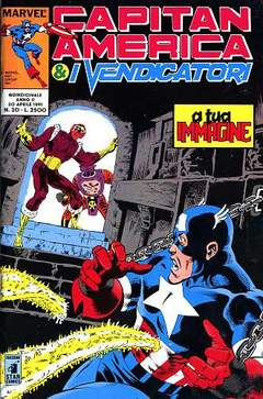 Copertina CAPITAN AMERICA n.20 - CAPITAN AMERICA             20, STAR COMICS