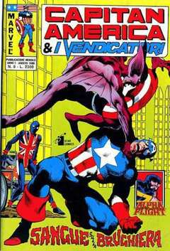 Copertina CAPITAN AMERICA & I VENDICATORI n.8 - CAPITAN AMERICA              8, STAR COMICS