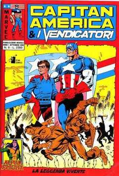 Copertina CAPITAN AMERICA & I VENDICATORI n.9 - CAPITAN AMERICA              9, STAR COMICS