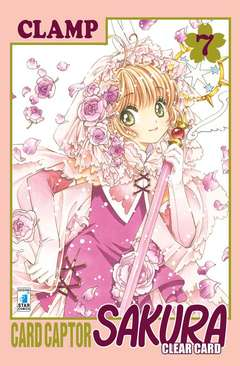 Copertina CARD CAPTOR SAKURA CLEAR CARD n.7 - CARD CAPTOR SAKURA CLEAR CARD 7, STAR COMICS