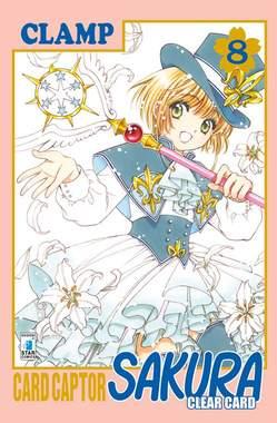 Copertina CARD CAPTOR SAKURA CLEAR CARD n.8 - CARD CAPTOR SAKURA CLEAR CARD 8, STAR COMICS