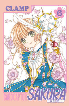 Copertina CARD CAPTOR SAKURA - CLEAR CARD6 n.247 - CARD CAPTOR SAKURA - CLEAR CARD 6, STAR COMICS