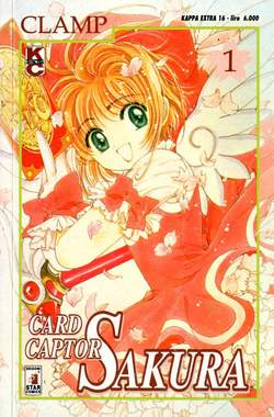 Copertina CARD CAPTOR SAKURA n.1 - CARD CAPTOR SAKURA 1, STAR COMICS