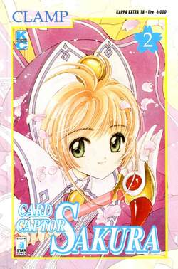 Copertina CARD CAPTOR SAKURA n.2 - CARD CAPTOR SAKURA 2, STAR COMICS