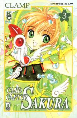 Copertina CARD CAPTOR SAKURA n.3 - CARD CAPTOR SAKURA 3, STAR COMICS