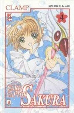 Copertina CARD CAPTOR SAKURA n.4 - CARD CAPTOR SAKURA 4, STAR COMICS