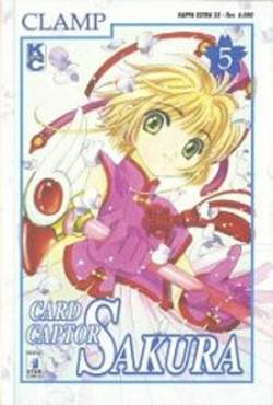 Copertina CARD CAPTOR SAKURA n.5 - CARD CAPTOR SAKURA 5, STAR COMICS