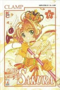 Copertina CARD CAPTOR SAKURA n.6 - CARD CAPTOR SAKURA 6, STAR COMICS