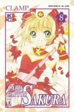 Copertina CARD CAPTOR SAKURA n.8 - CARD CAPTOR SAKURA 8, STAR COMICS