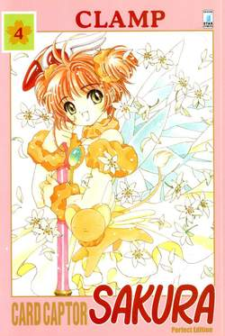 Copertina CARD CAPTOR SAKURA PERFECT EDITION n.4 - CARD CAPTOR SAKURA PERFECT EDITION 4 (m12), STAR COMICS