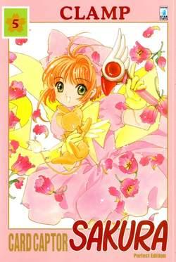 Copertina CARD CAPTOR SAKURA PERFECT EDITION n.5 - CARD CAPTOR SAKURA PERFECT EDITION 5 (m12), STAR COMICS