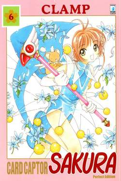 Copertina CARD CAPTOR SAKURA PERFECT EDITION n.6 - CARD CAPTOR SAKURA PERFECT EDITION 6 (m12), STAR COMICS