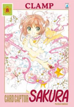Copertina CARD CAPTOR SAKURA PERFECT EDITION n.8 - CARD CAPTOR SAKURA PERFECT EDITION 8 (m12), STAR COMICS