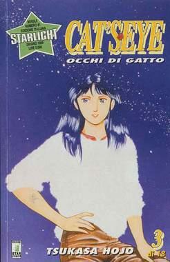 Copertina CAT'S EYE n.3 - OCCHI DI GATTO 3, STAR COMICS