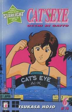 Copertina CAT'S EYE n.6 - OCCHI DI GATTO 6, STAR COMICS