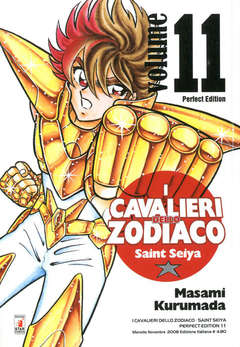 Copertina CAVALIERI ZOD. Perf. Ed. New n.11 - SAINT SEIYA PERFECT EDITION, STAR COMICS