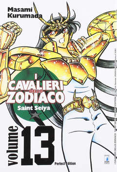Copertina CAVALIERI ZOD. Perf. Ed. New n.13 - SAINT SEIYA PERFECT EDITION, STAR COMICS