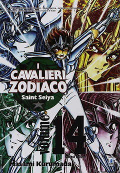 Copertina CAVALIERI ZOD. Perf. Ed. New n.14 - SAINT SEIYA PERFECT EDITION, STAR COMICS