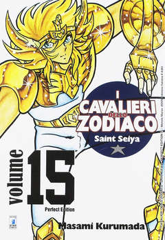 Copertina CAVALIERI ZOD. Perf. Ed. New n.15 - SAINT SEIYA PERFECT EDITION, STAR COMICS