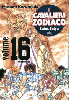 Copertina CAVALIERI ZOD. Perf. Ed. New n.16 - SAINT SEIYA PERFECT EDITION, STAR COMICS