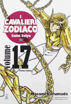 Copertina CAVALIERI ZOD. Perf. Ed. New n.17 - SAINT SEIYA PERFECT EDITION, STAR COMICS