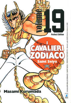 Copertina CAVALIERI ZOD. Perf. Ed. New n.19 - SAINT SEIYA PERFECT EDITION, STAR COMICS