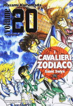 Copertina CAVALIERI ZOD. Perf. Ed. New n.20 - SAINT SEIYA PERFECT EDITION, STAR COMICS