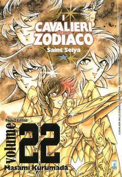 Copertina CAVALIERI ZOD. Perf. Ed. New n.22 - SAINT SEIYA PERFECT EDITION, STAR COMICS